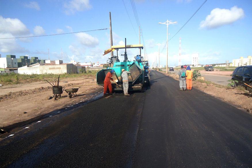 A Perimetral Sul tem uma extensão de 12,6 k e estão sendo investidos R$ 17,9 milhões com recursos próprios (Foto: ClickPB)